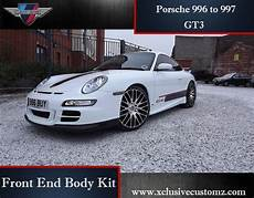 porsche 911 996 to 997 gt3 conversion front end kit
