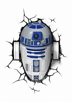 star wars r2d2 3d light