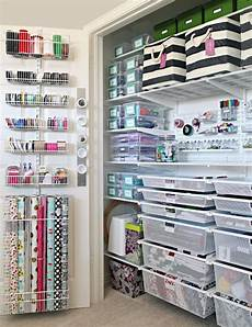 61 the ultimate craft closet organization craft closet
