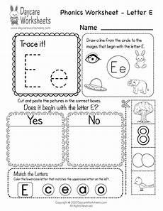 letter e beginning sounds worksheets 24099 free letter e phonics worksheet for preschool beginning sounds