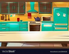 Kitchen Background Images by Kitchen Interior Background Royalty Free Vector