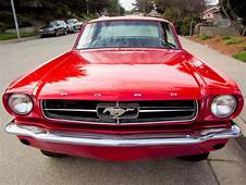 19645 Ford Mustang Coupe V8 64 1/2 65 1965 289 Project