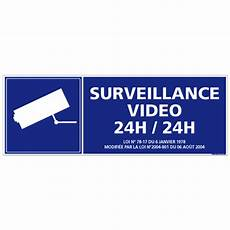 panneau surveillance 24h 24 g0325