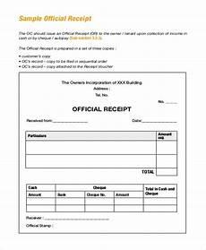 free 22 sle receipt forms pdf