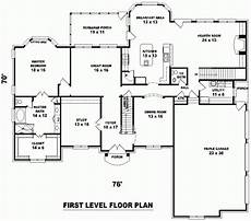 5 bedroom 3600 sq ft house plan 48599 traditional style with 4500 sq ft 5