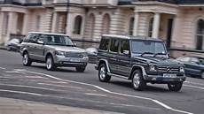 mercedes g class vs range rover top gear