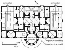 ancient roman house floor plan roman baths floor plan google search roman bath house