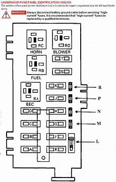 1993 Ford F350 Wiring Diagram by I Need A Diagram Of The 1993 Ford Truck E350 Fuse Panel In