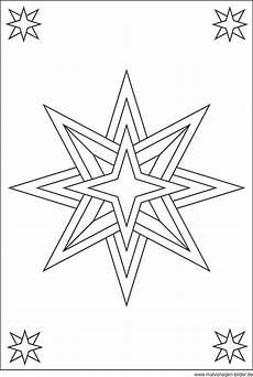 Malvorlagen Sterne N Weihnachtsstern Zum Malen Und Ausdrucken