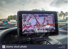 Tomtom Live Traffic Tomtom Sat Nav Satnav Satellite Navigation Showing Live Traffic Stock Photo Royalty Free