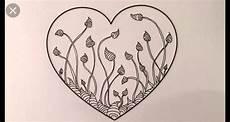 malvorlagen herz challenge zentangle muster bild never auf kresliť