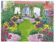 ein schöner garten ein reihenhausgarten aus der reihe garten schmaler