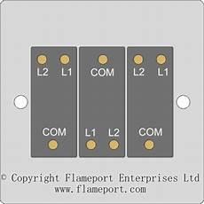 lighting circuit switch arrangements