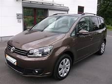 Volkswagen Touran Comfortline - vw touran 1 6 tdi bluemotion comfortline toffeebraun