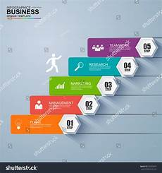infographic staircase step business vector design template infographics business stair step success vector design template 252050833