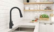 black faucet kitchen matte black finish symmons industries inc