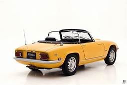 1971 Lotus Elan S4 Drophead  Hyman Ltd