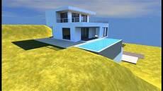 plan maison moderne 3d conception 3d d un plan de maison avec piscine