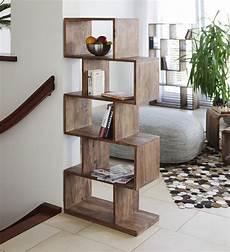 buy zig zag book shelf display unit in