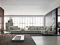 tr 232 s grand canap 233 d angle en tissu gris clair salon