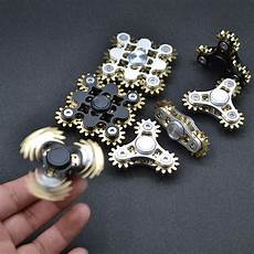 new arrival spinner fidget spinner brass gears material stainless steel 9 gear linkage and