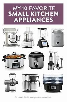 Kitchen Electronics List by My 10 Favorite Small Kitchen Appliances Kitchen