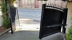 systeme ouverture portail 15 cor 233 nov portail sur pente ouverture vue int 233 rieur