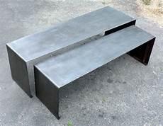 tables basse gigogne xl en acier