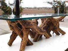 Tree Trunk Table With Glass Top D E S I G N M E
