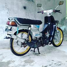 Suzuki Bravo Modif by Modifikasi Suzuki Rc 100 Bravo Bebek Kencang Zaman Doeloe