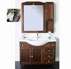 mobili bagno arte povera prezzi mobile bagno ilaria in arte povera da 105 cm con specchio