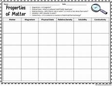 science review worksheets 6th grade 12383 5th grade properties of matter daily review for staar from the pensive sloth with images