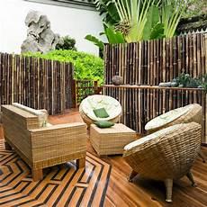 Balkon Sichtschutz Bambus - bambus sichtschutzzaun schwarz 3 gr 246 223 en volle