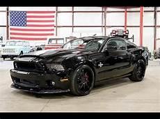 2013 Ford Mustang Gt 500 Snake Black