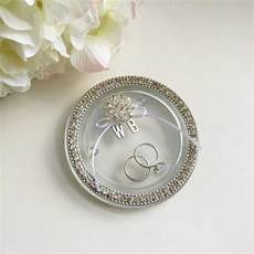 wedding ring dish rustic wedding ring holder ring bearer dish personalized ring bearer