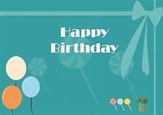 free birthday card templates to free editable and printable birthday card templates