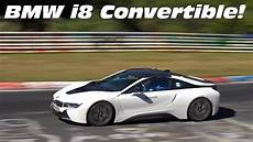 Bmw I8 Convertible On The Road