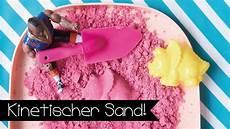diy kinetic sand selber machen i kinetischer sand