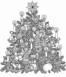 ausmalbilder erwachsene weihnachtsbaum weihnachten 7 ausmalbilder f 252 r erwachsene