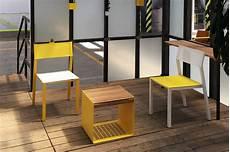 Salon De Jardin Table Desa Rectangle 95x180 Cm Et 4