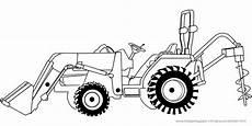 malvorlagen landwirtschaftliche fahrzeuge kinder