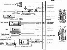 1986 chevy truck wiring diagram wiring