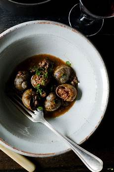 Escargot A La Bordelaise September Is For Snails Dishes To Try Food Snails