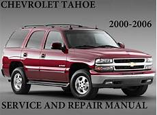 car repair manuals online pdf 2004 chevrolet tahoe instrument cluster chevrolet tahoe 2000 2006 service and repair manual pdf