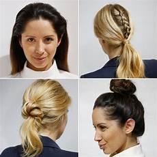quick hairstyles for work popsugar beauty australia