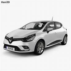 Renault Clio Business 5 Door Hatchback 2016 3d Model