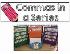 free worksheets for grade 18644 commas in a series free literacy center by mrs p s firsties tpt