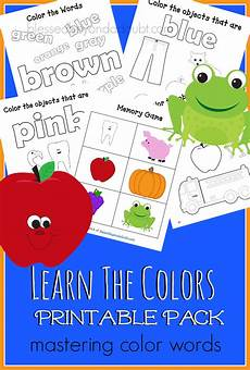 colors printable word 12830 free learn the color names pack 35 pages