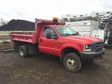 2004 Ford F 350 Super Duty Diesel Dually Dump Truck In