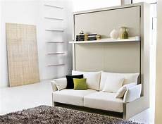 Wandbett Mit Sofa - transformable murphy bed sofa systems that save up on
